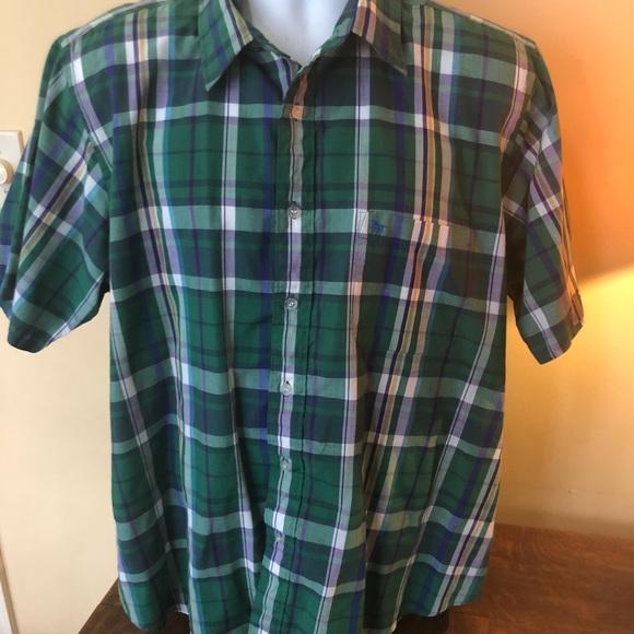 86dab6de9 Vintage Men Sears Store Plaid Skater Grunge shirt
